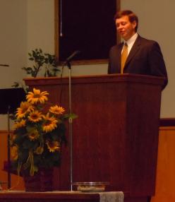 Pastor Steve Mackey